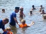 В Манжероке прошла акция «Научись плавать»