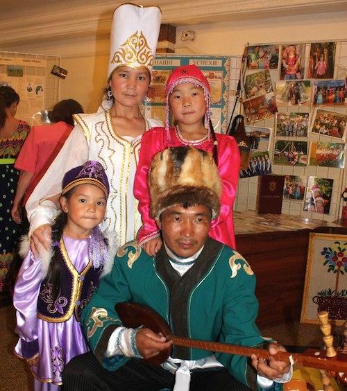 Победители конкурса – семья Ерленбаевых