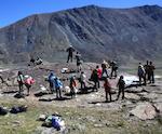 Завершилась экспедиция по изучению петроглифов в Монгольском Алтае (фото)