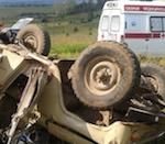 Водитель «уазика» погиб в ДТП в Кош-Агачском районе