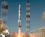 Стартовавший с Байконура «Протон» пролетел над Алтаем (видео)