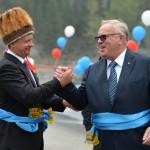 Открытие мостов в село Инегень, Онгудайский район Республики Алтай. 13 августа 2015 года. Фото: Александр Тырышкин.