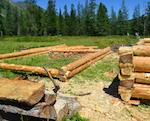 В Катунском заповеднике строят новый кордон