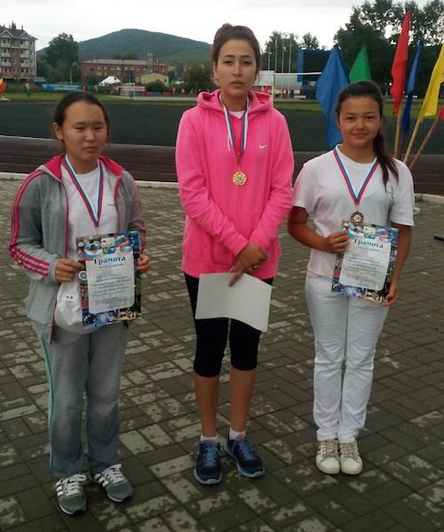 Победительницы соревнований