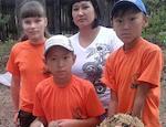 Школьники из Теньги приняли участие в фестивале «Живая планета»