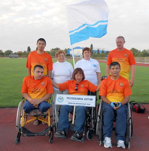 Спортсмены из Горного Алтая приняли участие в соревнованиях «Пара-Крым-2015»