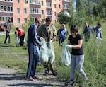 74 тонны мусора собрали на субботнике в Горно-Алтайске