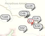 Землетрясение магнитудой 4,5 произошло на Алтае