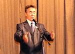 Иван Белеков провел урок литературы в колледже культуры
