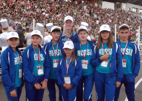 Участники фестиваля ГТО. Фото: sport04.ru