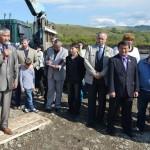 На церемонии закладки камня в строительство буддийского храма выступил, в том числе, Укмет Альпимов