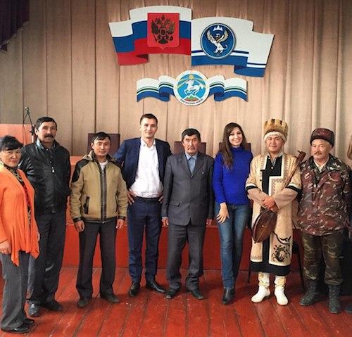 Встреча Анны Даниловой с жителями Улаганского района