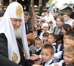 Патриарх Кирилл потрясен красотой Горного Алтая (фоторепортаж)