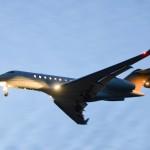 Самолет патриарха идет на посадку в горно-алтайский аэропорт
