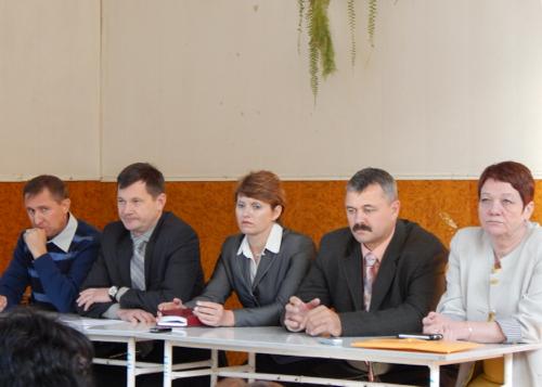 Собрание в турочакской школе