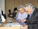 В Горно-Алтайске проходят курсы компьютерной грамотности для пожилых людей