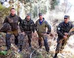Архангельские инспекторы провели тренировку в Алтайском заповеднике