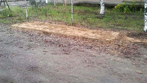 После шумихи остановку демонтировали