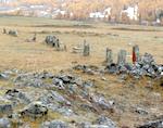 Специалисты проверили сохранность археологических памятников в Улаганском районе (фото)