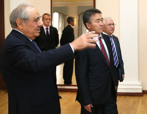 Минтимер Шаймиев и Иван Белеков. Фото: пресс-служба президента РТ