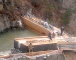В Балыкче восстановили ГЭС «Кайру», поврежденную наводнением