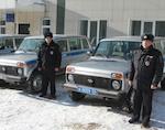 Полицейские получили новые служебные автомобили
