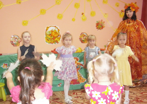 В детских садах прошли праздники осени