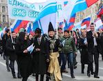 Землячество Республики Алтай приняло участие в митинге «Мы едины» в Москве