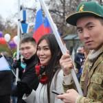 Алтайское землячество на московском митинге