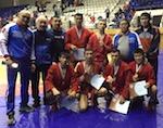Алтайские спортсмены завоевали первое место по боевому самбо в Иркутске