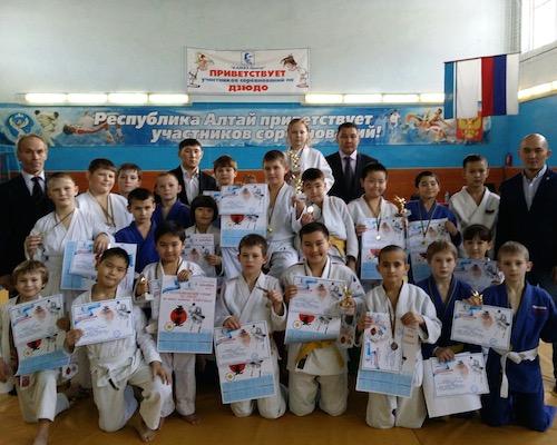 В Горно-Алтайске прошли соревнования по дзюдо