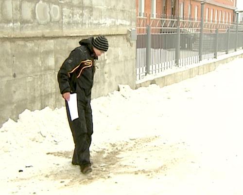 Активистам ОНФ не удалось отыскать новую автопарковку на ул. Советской