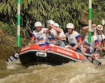 Горно-алтайские спортсмены продолжают участие в Чемпионате мира по рафтингу в Индонезии