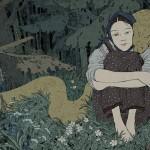 В Горно-Алтайске проходит выставка иллюстраций книги Павла Бажова «Уральские сказы»