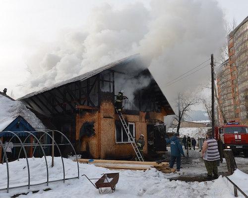 У командира отряда «Вымпел» сгорел дом