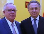 Мутко и Бердников обсудили вопросы развития спорта