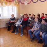 «Инвалиды войны» и молодогвардейцы поздравили учащихся школы-интерната №1 с новым годом