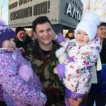 Алтайские собровцы вернулись с Дагестана