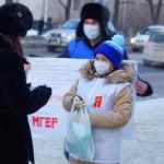 В Горно-Алтайске прошла акция «СтопГрипп!»