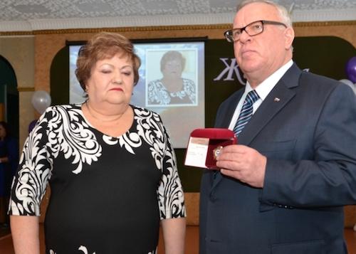 Неллю Табакаеву наградили орденом «Тан Чолмон»