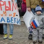 «Крымский митинг» в Горно-Алтайске. Фото: Александр Тырышкин