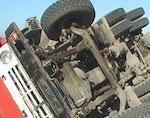 «Камаз» перевернулся в Кош-Агачском районе, погиб водитель