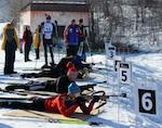 Соревнования по биатлону прошли в Горно-Алтайске