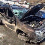 Renault Duster после аварии