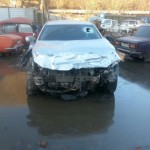 Toyota Camry после аварии