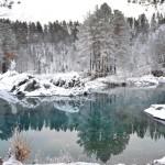 Голубые озера. Фото: Вячеслав Красилов
