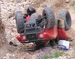 Кемеровчанка упала с квадроцикла в Чемальском районе