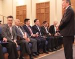 Сенатор Виктор Озеров встретился с участниками праймериз