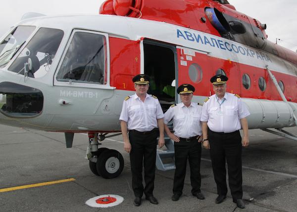 Фотофакт: В Республику Алтай прибыл новый вертолет