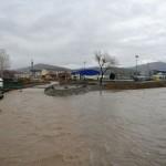 Из-за обильных осадков в реках начал подниматься уровень воды